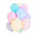 Balony pastelowe mix kolorów 11cali 27cm 100szt Strong