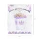 Pudełka na popcorn/słodycze  Jednorożec białe 3szt