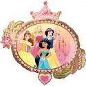 Balon foliowy Księżniczki dwustronny 86x81cm