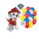 Zestaw balonów Marshall Psi Patrol 21szt