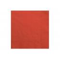 Serwetki trójwarstwowe czerwone 33x33cm 20szt