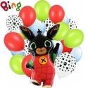 Zestaw balonów Królik Bing 21szt