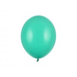 Balony pastelowe zielone aquamarine 12cali 30cm 10szt Strong