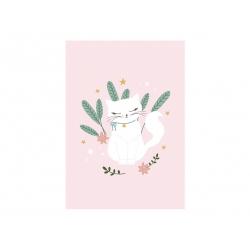 Blok rysunkowy Kotek z białymi kartkami A4 50 kartek