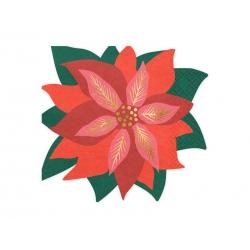 Serwetki papierowe Gwiazda betlejemska 14,5x15,5cm