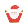 Serwetki papierowe Mikołaj czerwony 16x15cm